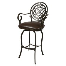 Island Falls Barstool with Arms