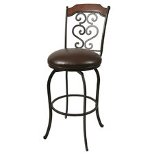 Jersey Meadow Barstool in Autumn Rust