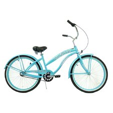 <strong>Greenline Bicycles</strong> Women's 3-Speed Premium Beach Cruiser