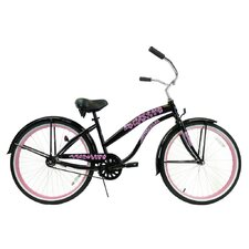 <strong>Greenline Bicycles</strong> Women's Single Speed Premium Beach Cruiser