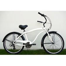 Men's 7-Speed Aluminum Beach Cruiser