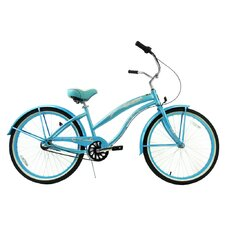 <strong>Greenline Bicycles</strong> Women's 3-Speed Aluminum Beach Cruiser