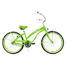 <strong>Greenline Bicycles</strong> Women's Single Speed Beach Cruiser