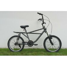 BMX Bike with Dual Front and Rear Suspension