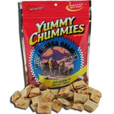 "10"" Yummy Chummies Wild Alaska Salmon Original Soft N' Chewy Dog Treat"