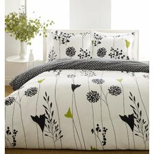 Asian Lily Duvet Cover Set