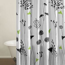 <strong>City Scene</strong> Asian Lily Cotton Shower Curtain