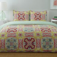 <strong>City Scene</strong> Medallion Comforter Set