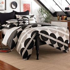<strong>City Scene</strong> Not Neutral Half Moon Duvet Cover Collection