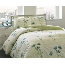 Surrey Garden 3 Piece Duvet Cover Set
