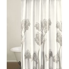 Tree Top Cotton Shower Curtain