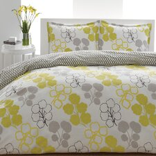 <strong>City Scene</strong> Pressed Flower Duvet Set