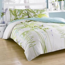 Mixed Floral Mini Comforter Set