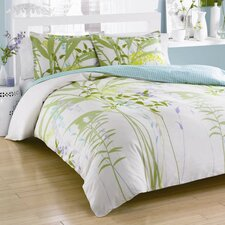 <strong>City Scene</strong> Mixed Floral Mini Duvet Cover Set