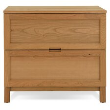 Woodland Lateral File Cabinet in Solid Natural Cherry
