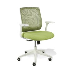 White Camilla Mesh Office Chair