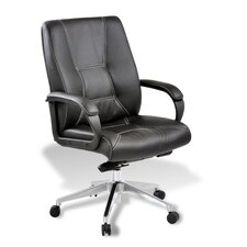 Naja Mid-Back Leather Executive Chair