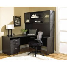 Pro X - Narrow L-Shape Home Desk Office Suite