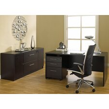 100 5-Piece Standard Desk Office Suite