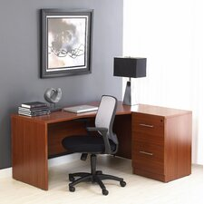 <strong>Jesper Office</strong> Pro X - L-Shaped Corner Executive Desk
