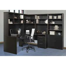 <strong>Jesper Office</strong> Pro X - L-Shape Corner Workstation Desk Office Suite
