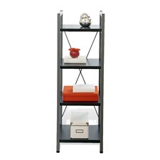 Tribeca 214-ESP Narrow Bookcase with Four Shelves