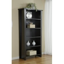 900 Series Modern Five Shelf Bookcase
