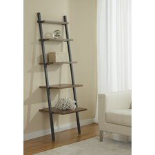 Five Tier Ladder Bookcase