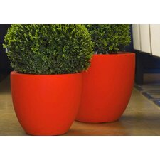 <strong>Smart & Green</strong> Cuenco Fang Round Flower Pot Planter