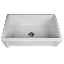 "Cape 30"" x 18"" Hyannis Single Bowl Kitchen Sink"