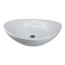 "23"" Vessel Bathroom Sink"