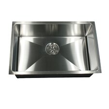 "23"" x 18"" Small Radius Stainless Steel Kitchen Sink"