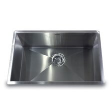 "28"" x 18"" Undermount Pro Series Single Bowl Kitchen Sink"