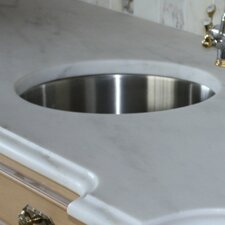 "18.3"" x 18.3"" Round Undermount Bar Sink"