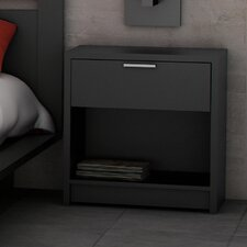 <strong>Stellar Home Furniture</strong> Milan 1 Drawer Nightstand