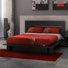 <strong>Stellar Home Furniture</strong> Milan Queen Platform Bed