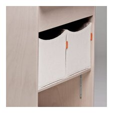 <strong>Leander</strong> Storage Box in Vanilla (Set of 2)