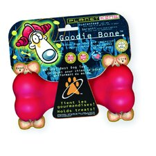 Red Goodie Bone Dog Toy