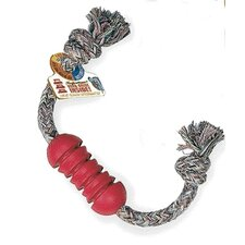 Dental Stick with Rope Dog Toy
