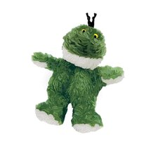 Dr. Noy's Sitting Frog Plush Dog Toy