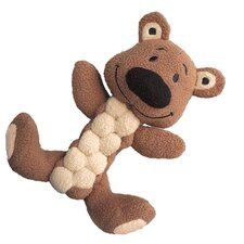 <strong>KONG</strong> Pudge Braidz Bear Dog Toy