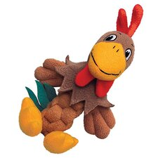 <strong>KONG</strong> Pudge Braidz Rooster Dog Toy