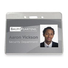 "Proximity Badge Holder,Horizontal,2-3/8""x3-1/2"",50/PK,Clear"