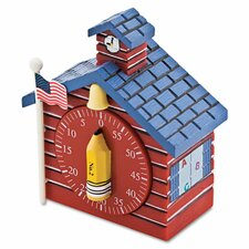 School House Shaped Timer