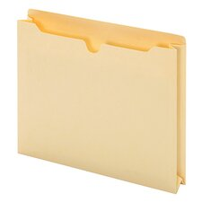 14 pt. Manila Letter Size File Jacket (Set of 50)