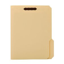 18 pt. Manila Letter Size Fastener Folder (Set of 250)