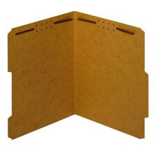 17 pt. Kraft Letter Size Fastener Folder (Set of 250)