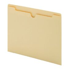 11 pt. Manila Letter Size Antimicrobial File Jacket (Set of 1000)