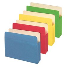 11 pt. Letter Size File Pocket (Set of 5)