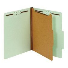 25 pt. Letter Size Classification Folder (Set of 50)